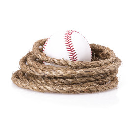 rope baseball ball