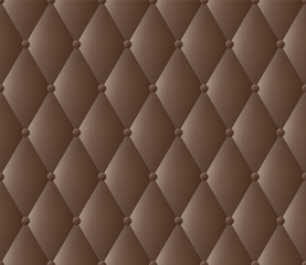 Dark brown upholstery vector abstract background.