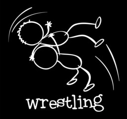 A wrestling sports