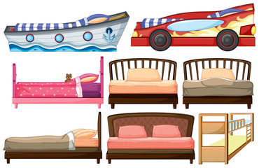 Different bed designs