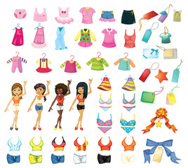 Girl dress set