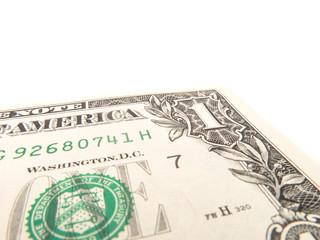 One US dollar detail