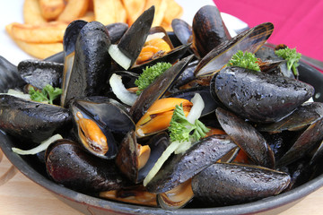 moules, frites