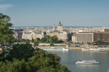 Danube crossing Budapest