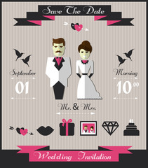 Wedding infographic.