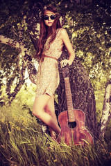guitar nature