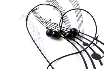 music, headphones, love3