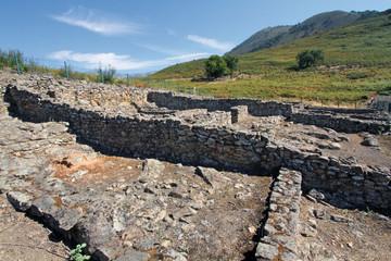 Wall Mural - Restos casas castro vetón, Raso de Candeleda, España
