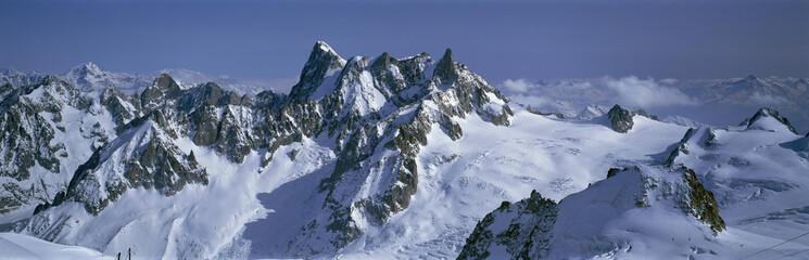 French Alps, near Chamonix, France