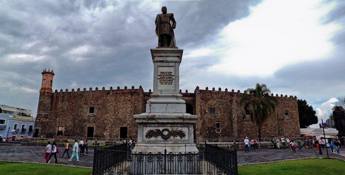 Historical Palace of Hernan Cortes, Cuernavaca, Mexico