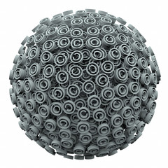 Copyright 3d Symbol Sphere Ball Intellectual Legal Protection