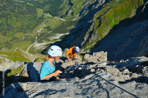 Klettersteig Kinder : Ramsau lädt zum klettersteig seminar alpenmag