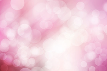 abstract bokeh background, pink and white.