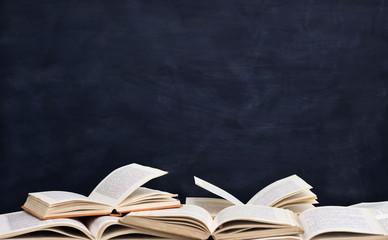 books front blackboard