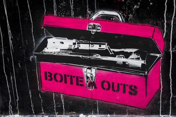 Graffiti boite à outils
