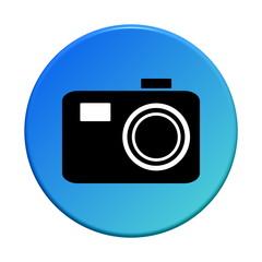Button rund: Fotoapparat