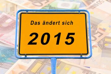 Änderung ab 2015