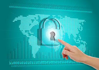 Security of information on the Internet