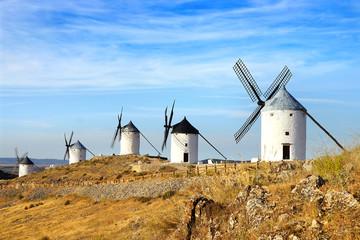 Aluminium Prints Mills Windmills in Consuegra.