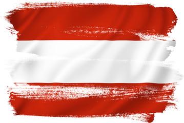 Austria flag Fototapete