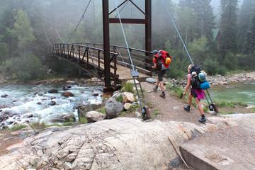 Hikers - Randonneurs (San Juan National Forest)