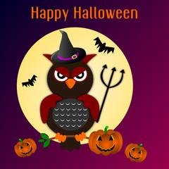 Cartolina d'auguri per Halloween