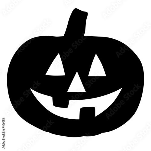 halloween k rbis mit gesicht schwarz vektor freigestellt stockfotos und lizenzfreie. Black Bedroom Furniture Sets. Home Design Ideas