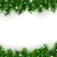 Fir christmas background.