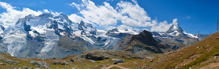 Obraz Krajobraz alpejski - fototapety do salonu