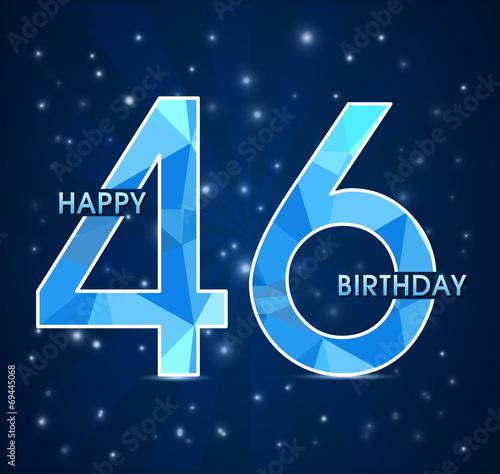 Поздравление с днем рождения женщине с 46 летием 10