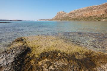Balos beach in Gramvousa Peninsula. Crete. Greece