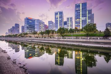 Beijing, China CBD Skyline