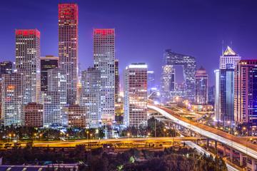 Photo sur Plexiglas Pékin Beijing, China Financial District