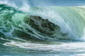 Wave Sand Water Crashing Power