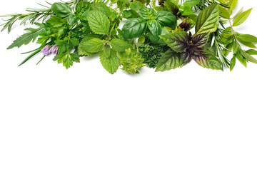 Wall Mural - Fresh herbs
