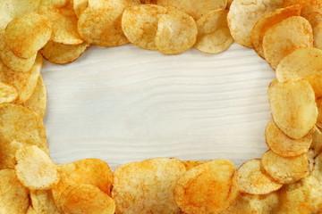 Cornice di patatine fritte