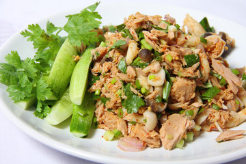 Tuna spicy salad
