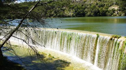 Aliviadero del pantano de Foix, Barcelona