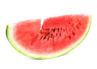 Sweet watermelon slice