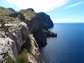 Mallorca - Steilküste Caleta d' Ariant