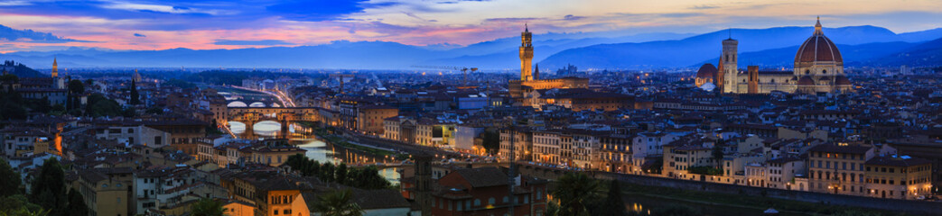Spoed Fotobehang Florence Florence, Italy - view of the city, panorama