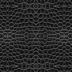 black crocodile skin pattern