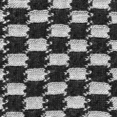 black-white fabric texture closeup