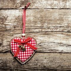 rotes Herz Anhänger