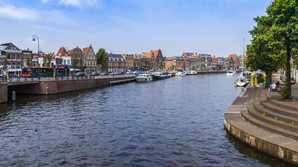 Haarlem, Netherlands. A typical urban landskape