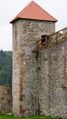 Square fortification tower