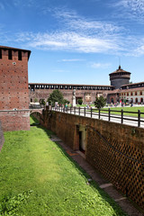 Im Castello Sforzesco in Mailand