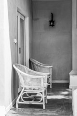 vintage chair (in bw style)