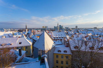 Tallinn at winter