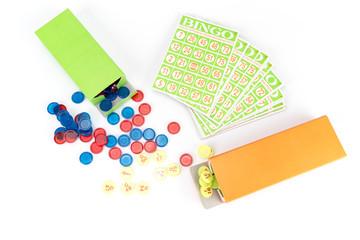 little bingo game equipment